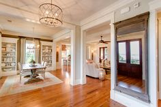 open-ness of all spaces, but separate Old Landing Home in Daniel Island, SC by JacksonBuilt Custom Homes