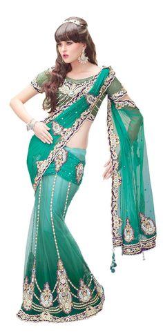 Wedding Indian Bollywood New Partywear Sari Ethnic Saree Designer Pakistani SC  #KriyaCreation #SariSaree