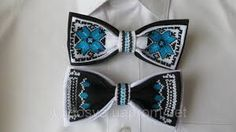 Imagini pentru бабочка галстук вышивка