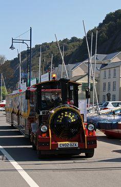 Swansea Bay Rider Land Train, via Flickr.