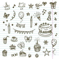 30 Best Cake drawing images in 2018 | Food drawing, Cake