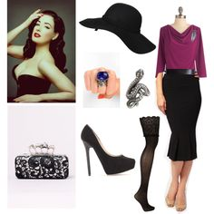"""""""Modern retro TW SD"""" by skugge on Polyvore"""