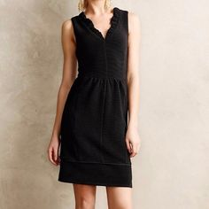 Anthropologie Maeve brand dress. Size S Little Black Dress!!!! 98% polyester 2% other. Cute front pockets! Price is FIRM. Anthropologie Dresses Mini