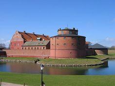 I got married here. Landskrona Castle, Sweden
