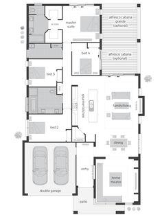 Monte Carlo Executive floor plan