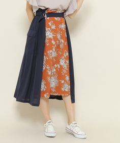 Frock Fashion, Batik Fashion, Skirt Fashion, Hijab Fashion, Diy Fashion, Fashion Dresses, Fashion Looks, Womens Fashion, Fashion Design
