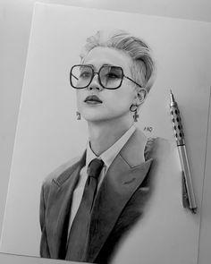 Kpop Drawings, Cool Art Drawings, Art Drawings Sketches, Disney Drawings, Creepy Sketches, Jimin Pictures, Park Jimin Cute, Art Manga, Jimin Fanart