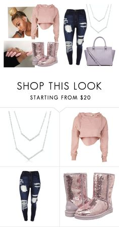 """""""Untitled #327"""" by marea2008 ❤ liked on Polyvore featuring UGG Australia and MICHAEL Michael Kors"""