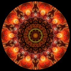 Fractal Colour Kaleidoscope 006 by fantasytripp