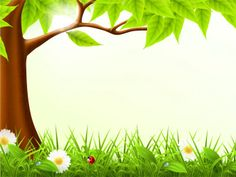 #Cute forest spring #PPT #Template allows you to prepare your aesthetic presentations. http://www.ppt-backgrounds.net/nature/5086-cute-forest-spring-backgrounds