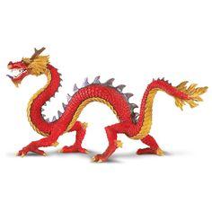 Horned Chinese Dragon Fantasy Figure Safari Ltd