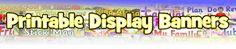 Printable Classroom Display Banners & Bulletin Board Banners - SparkleBox