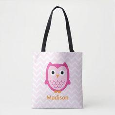 Kids Tote Bag, Best Pajamas, Back To School Crafts, Back To School Essentials, Printed Tote Bags, Edge Design, Owl, Reusable Tote Bags, School Hairstyles