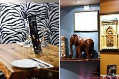 #Safari Destination Decor Inspiration// elephants, cheetahs and zebra-print sofas!
