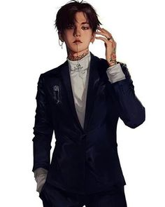 This Baekhyun fanart looks like he can impersonate Levi Ackerman! !!