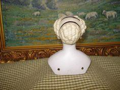 Antique Conta Boehme Parian Doll - TLC - Exquisite Outfit