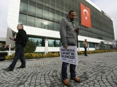 """Big New UNNewZ from Turkey oOo Goody: The editor-in-chief of Zaman, a major Turkish newspaper, is stepping down, citing """"unlawful pressure on press"""" as a factor in his departure."""