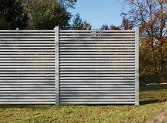 Clôture (acier, bois, aluminium, résine) : les nouveautés 2014