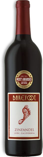 Barefoot Zinfandel. Best Barefoot I've tried. Actually tastes like wine and not just sugar.