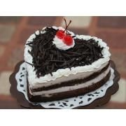 Make your dear birthday special by giving this Heart Shaped Black Forest Cake. Flowersbuds deliver special #birthdaycakes anywhere in #hyderabad & #secunderabad.Order this @ Rs.899.