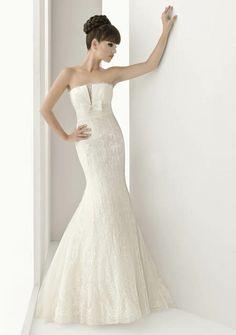 vestidos de novia sirena!