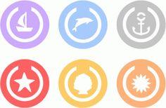 Silhouette Design Store - View Design #79801: circle paper clips