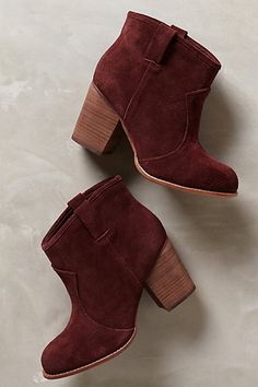 Grammar Booties - anthropologie.com