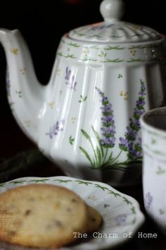 The Charm of Home: Lavender Tea