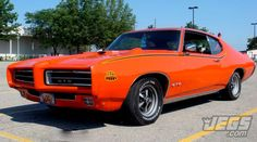 """The 1969 Pontiac GTO """"Judge"""".   Which Year And Color Is Your Favorite For The GTO?"""