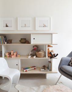 the boo and the boy: nursery storage - this is the oeuf bookcase available at UrbanBaby.com.au