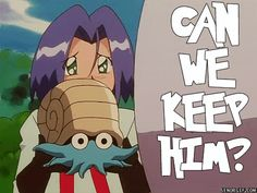 Team Rocket needs more pokemon right? Soooo, why is he asking someone to keep a…
