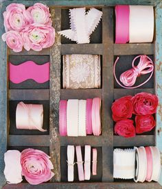 Ribbon Styling by Dana FitzGerald and captured by Amelia Johnson Photographyvisit The Brides Cafe for all the details!