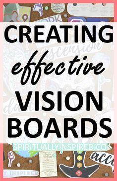 Vision boards physical representations of specific goals and intentions. They are meant to be reminders of our values and dreams. Learn the ins and outs of creating effective vision boards here, with tons of inspiration! Plus--free journal prompts to accompany your vision board.