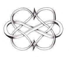 Image result for eternal love symbol