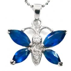 Brilliant red/blue crystal Butterfly necklace Butterfly Necklace, Blue Crystals, Belly Button Rings, Red And Blue, Jewelry, Jewlery, Bijoux, Jewerly, Belly Button Piercing