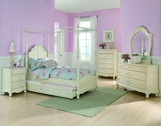 Homelegance 1386FPP-1 Cinderella Collection Color Ecru White