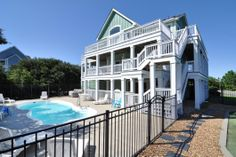 Tee to Green | The Currituck Club Vacation Rentals | Village Realty; 6 bdrm if Ben comes along