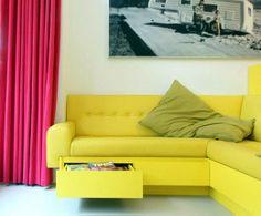 Contemporary, loft-like space