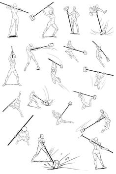 Body Kun amp Body Chan Manga Figuren z. Action Pose Reference, Figure Drawing Reference, Animation Reference, Art Reference Poses, Design Reference, Gesture Drawing, Body Drawing, Drawing Base, Drawing Tips