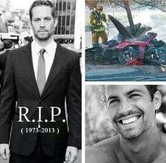 "This is just terrible. I don't even understand. ""This wasn't supposed to happen."" -Paul Walker"