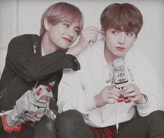 Find images and videos about bts, jungkook and taehyung on We Heart It - the app to get lost in what you love. Taekook, Bts Blackpink, Bts Taehyung, Hyuna, E Dawn, Bts Korea, I Love Bts, Just Friends, Namjin