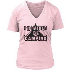 Limited Edition T-shirt Hoodie - I'd Rather Be Camping