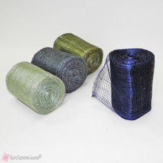 Κορδέλα δίχτυ σιναμάι 10cm - 9 μέτρα Napkin Rings, Napkin Holders