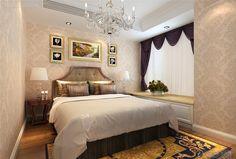 Luxury modern bedroom decorating pictures 2015