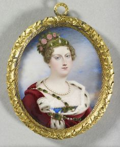 Princess Charlotte of Wales (1796-1817)  c. 1817 by Joseph Lee (1780-1859). Royal Collection Trust/© Her Majesty Queen Elizabeth II 2017