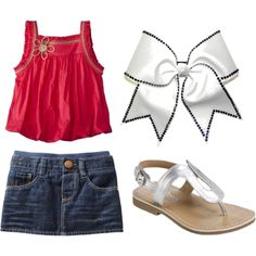"""""""Summer Outfit for My Little Girl"""" on Polyvore"""