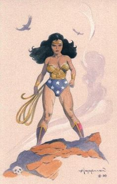 Mike Hoffman - Wonder Woman Comic Art