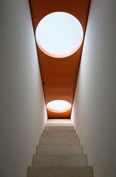 Escalera techo