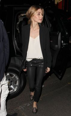 The Olivia Palermo Lookbook : Olivia Palermo at The Nice Guy nightclub in West Hollywood, California