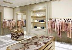 Emilio Pucci Ny by Joseph Dirand Retail Interior Design, Boutique Interior Design, Retail Store Design, Retail Shop, Joseph Dirand, Store Interiors, Merchandising Displays, Retail Space, Hospitality Design